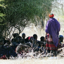 07 - Men gathering following child burial _web